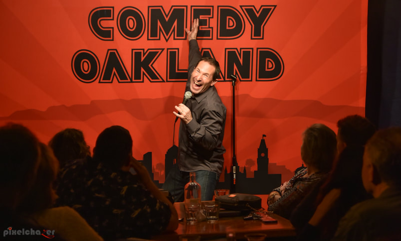 Comedian Jeff Applebaum at Comedy Oakland