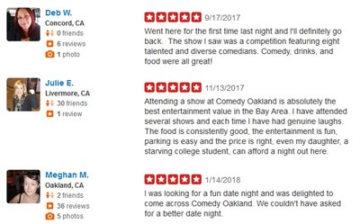 Yelp Reviews